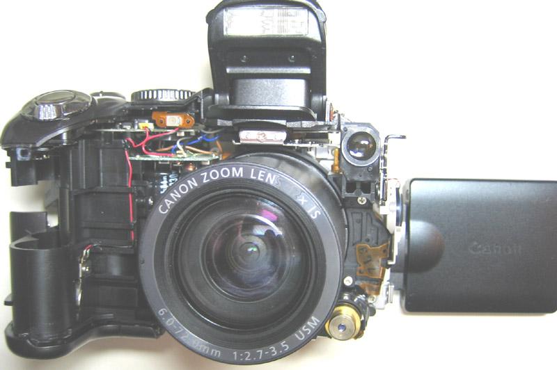 Ремонт цифровыхаппаратов canon